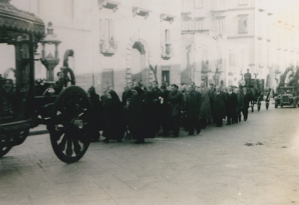 Onoranze Funebri Reale - Foto Storica
